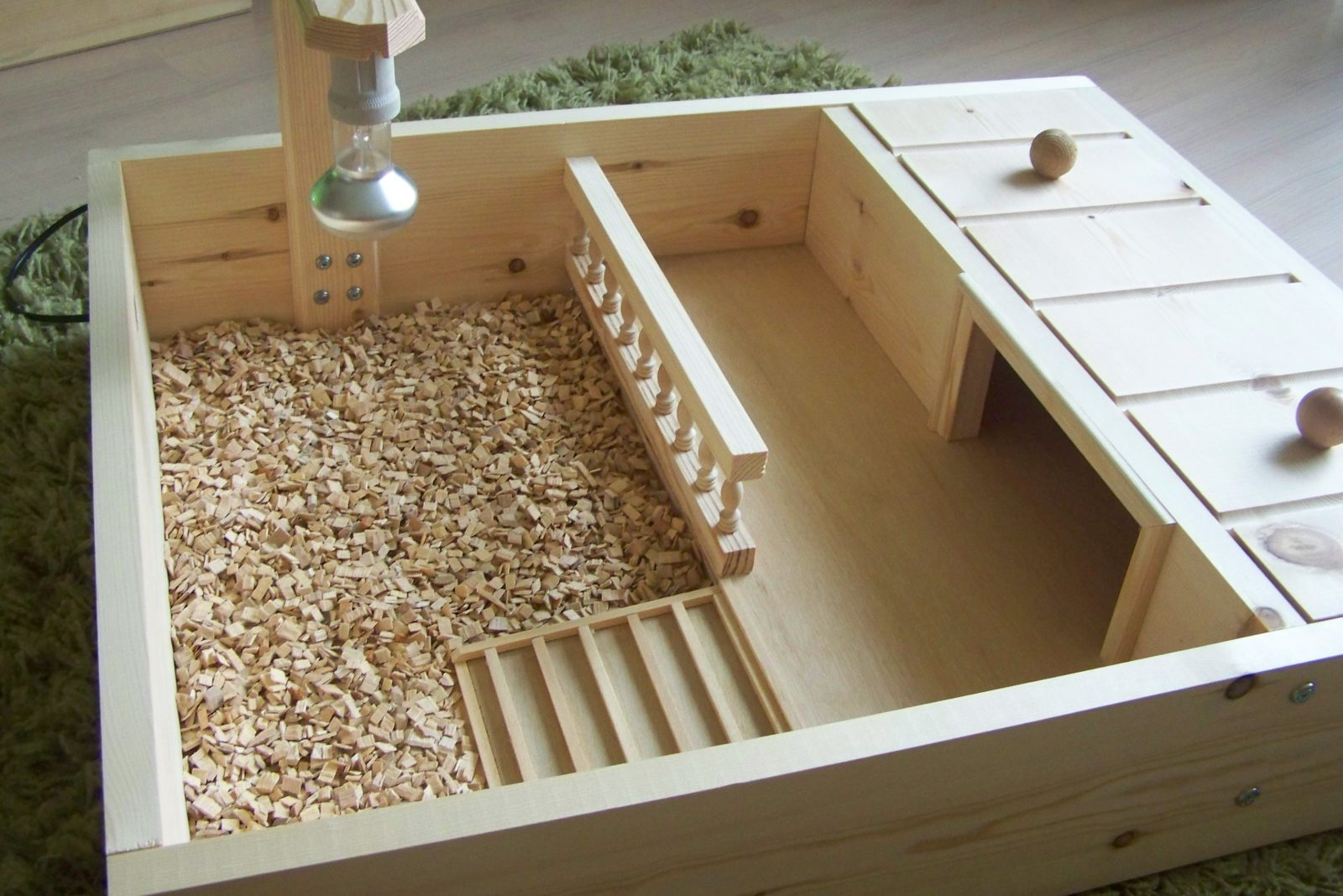 how to make a turtle habitat