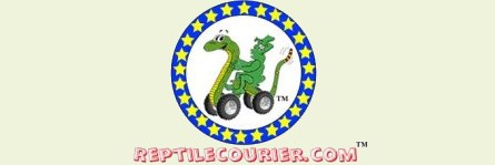We use The Reptile Courier to safely deliver our tortoises