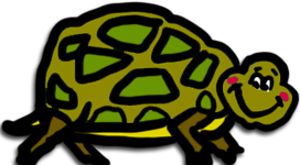 Tortoise Tables Mascot