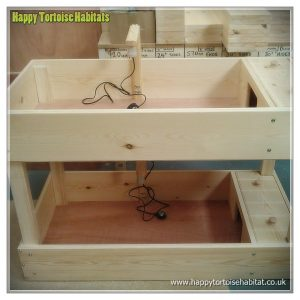 Duplex Tortoise Table - double level tortoise table for sale UK | 2 levels ideal for limited space or different species