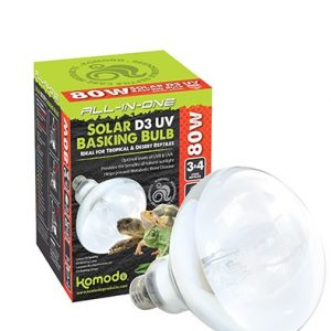Solar D3 UV Basking Bulb for Tortoises
